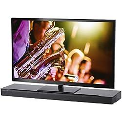 SoundXtra - Support au Sol pour TV et Barre de Son Bose SoundTouch 300 et Sounbar 700 - Noir
