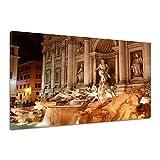 Fontana Di Trevi Rom Italien Architektur Leinwand Poster Druck Bild rv0488 60x40