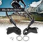 GYFHMY-Comandi-Cambio-Cambio-3X7-a-Doppia-Leva-con-Cambio-Sinistro-e-Destro-Bici-da-Strada-Compatibile-con-2-Cavi-Interni-Ideale-per-la-Mountain-Bike