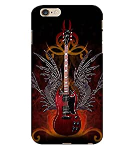 ColourCraft Guitar Back Case Cover for APPLE IPHONE 6S PLUS