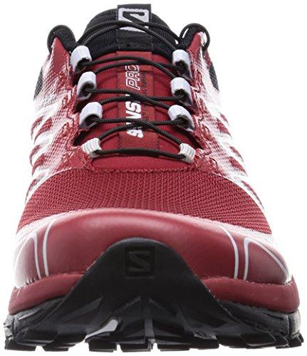Salomon Herren Sense Pro Traillaufschuhe Rot (Flea/Black/Black)