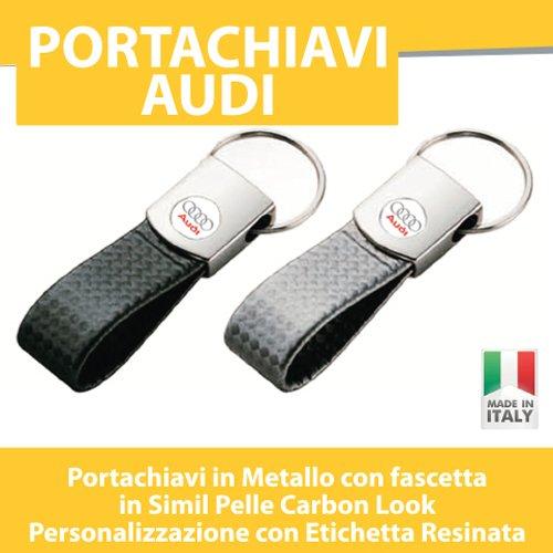 portachiavi-auto-moto-tuning-audi-a3-a4-a5-a6-tt-q5-q3-q7-portachiave-carbon-look-printerladit-nero