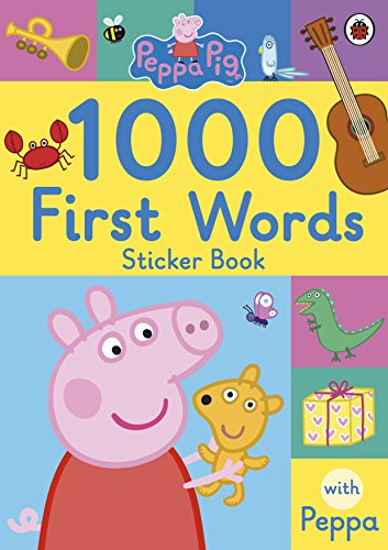 Image of Peppa Pig: 1000 First Words Sticker Book