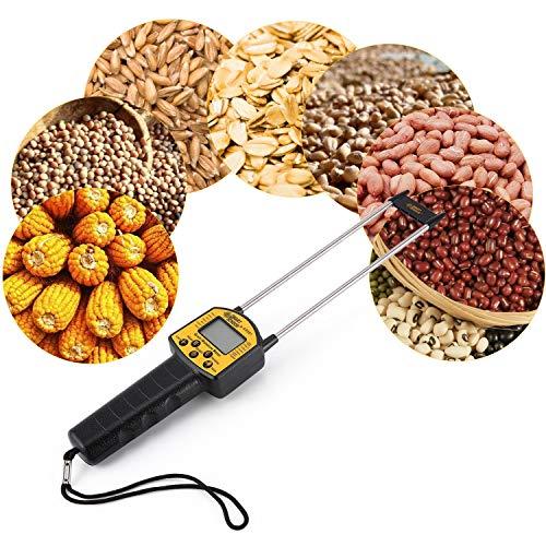 FairytaleMM SMART Sensor AR991 Digital-Korn-Feuchtigkeitsmesser für Mais Weizen Reis Bean Grain