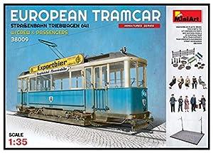 Unbekannt Mini Tipo 38009-Maqueta de European tramcar Brillantes Tren automotor 641con Crew y pasajeros.