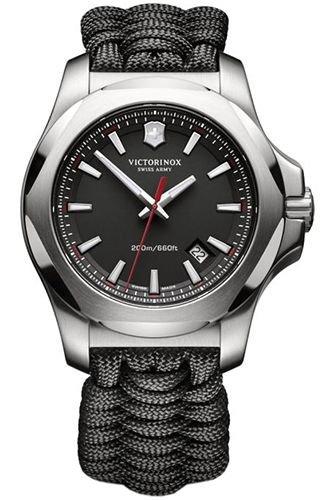 Victorinox Reloj Analogico para Hombre de Cuarzo con Correa en Tela 241726
