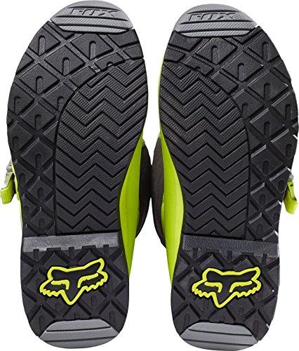 Fox Motocross-Stiefel Comp 5 Gelb Gr. 42.5 - 4