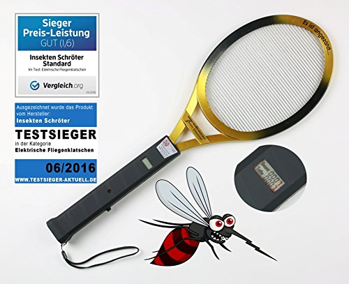 Zähler-stand (InsektenSchröter 7902 Elektronische Fliegenklatsche inklusive CatchCounter)