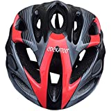 #6: Cockatoo Cyling and Skating Helmet -Large (Black/Red/Silver)