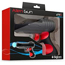 Big Ben PS3 Move Alien Gun - Volante/mando (Pistola, PC, Playstation 3, Inalámbrico)