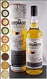 The Ardmore Legacy Single Malt Whisky mit 9 DreiMeister Edel Schokoladen in 9 Geschmacksvariationen
