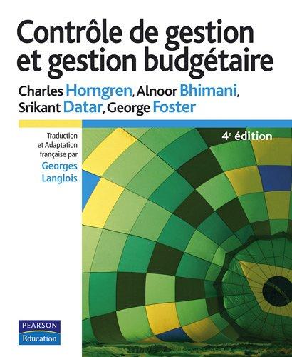 Contrôle de gestion et gestion budgétaire