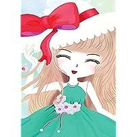 Crafts vendita diamante ricamo moda fai da te diamante pittura kit punto croce parte del Trapano bellezza ragazze Decorative Kit + regalo: una rosa diamante disegno, multicolore, 30*40-3