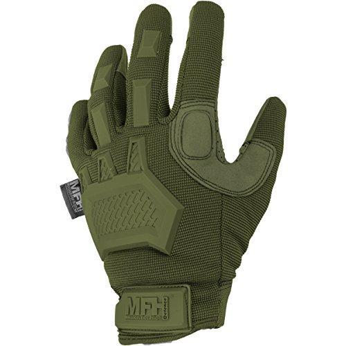 Bekleidung Taktische Kevlar Einsatzhandschuhe mit Protektoren und verstellbaren Verschluss Camping & Outdoor
