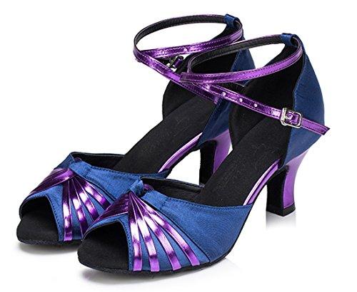 TDA - Strap alla caviglia donna 6cm Heel Blue