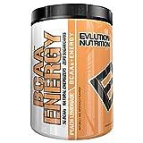 Evlution Nutrition BCAA Energy | Leistungsstarke Energiespendende Aminosäuren Für Muskelaufbau, Erholung Und Ausdauer | 30 Portionen | Pfirsich-Limonade