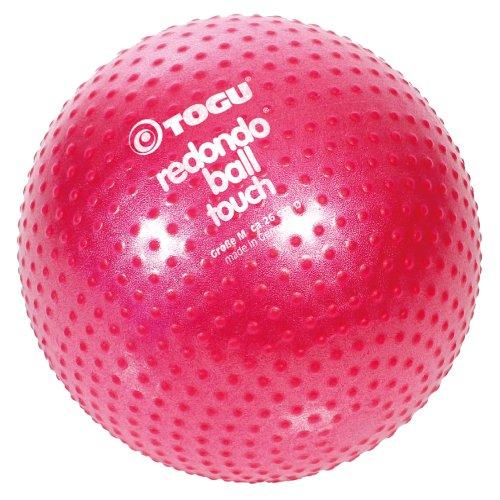 TOGU Redondo Ball Touch 26 cm Gymnastikball Pilatesball, rubinrot