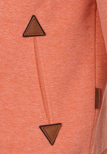 Naketano Male Zipped Jacket Schwarzkopf IV Orange Melange