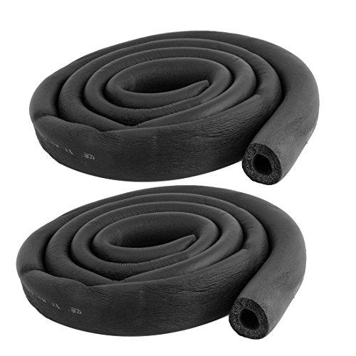 SODIAL(R) 2pzs Manguera de espuma 5/8 x 3/8 pulgada Tubo de aislamiento...