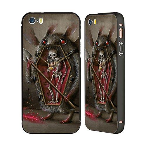 Ufficiale Jason Limon Bocciolo Di Sole Teschio Nero Cover Contorno con Bumper in Alluminio per Apple iPhone 6 Plus / 6s Plus Alitosi