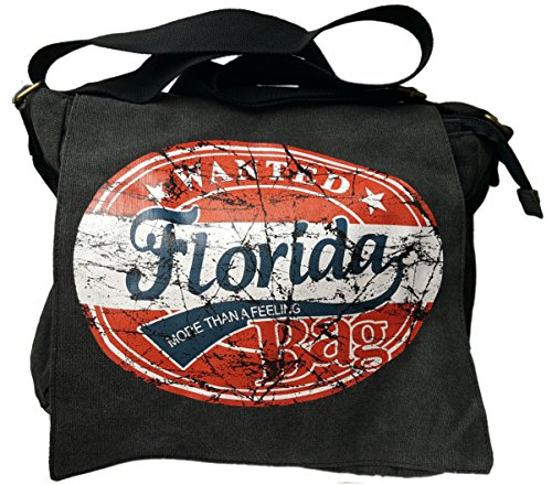 Robin Ruth , Borsa Messenger  Unisex - Adulto Wanted Florida