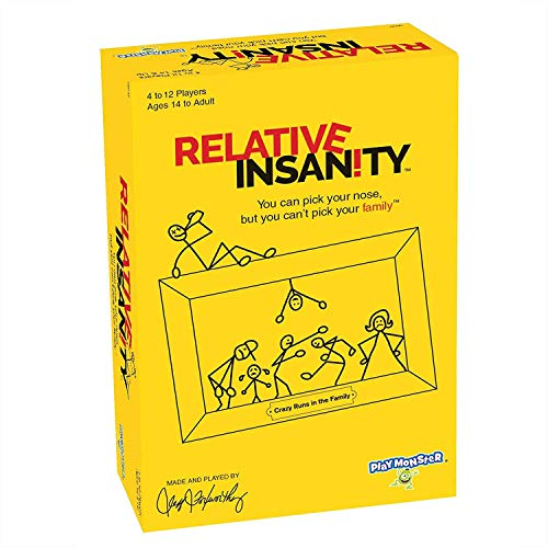 Mustbe Strong Relative Insanity Crazy Party Game, Board Game Card, Perfect for Game Nights with Friends and Family (Krone-kartenspiel)