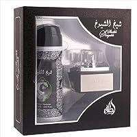 Sheikh Shuyukh by Lattafa Perfumes Gift Set (EDP 50ML & Deodorant 200 ml)