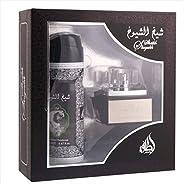 Sheikh Shuyukh by Lattafa Perfumes Gift Set (EDP 50ML & Deodorant 200