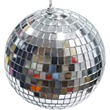 APSAMBR-1 PEICES 4 INCH Crafts Mirror Disco Ball Without Lighting