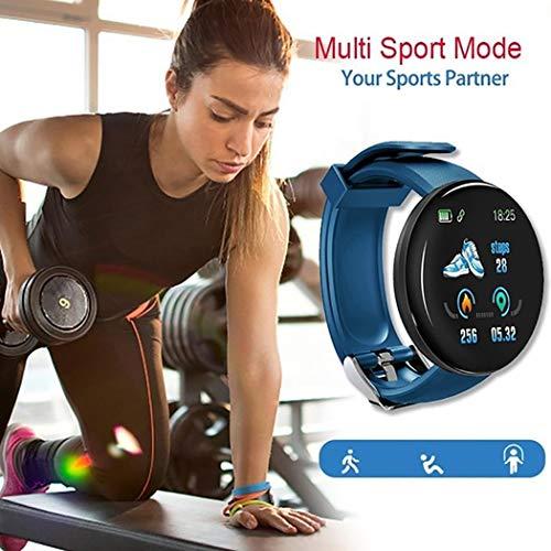 Smartwatch orologio forma tonda Bluetooth Multifunzionale