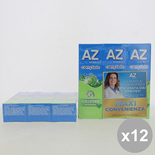 Set 12 AZ Dentifricio 75 X3 Pezzi Complete + Collutorio Freschezza Delicata - Cura del Viso