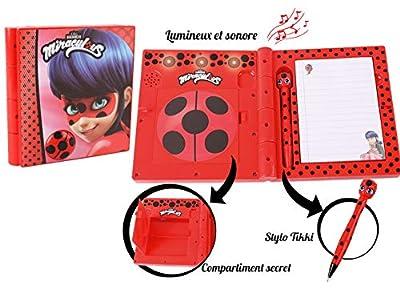 Bandai - Miraculous Ladybug - Journal intime interactif - parle français - role play - 82958