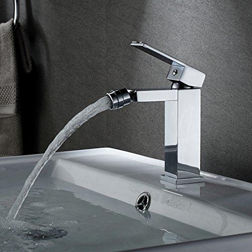 Auralum Miscelatore monocomando per bidet girevole 360° per bidet e bagno