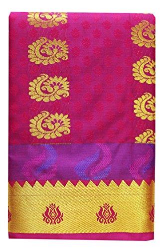 SARAVANABAVA SILKS Art Silk Saree With Blouse Piece(Srbs000476_Black_Free Size)