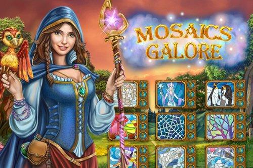 Mosaics Galore Das PuzzleKnigreich
