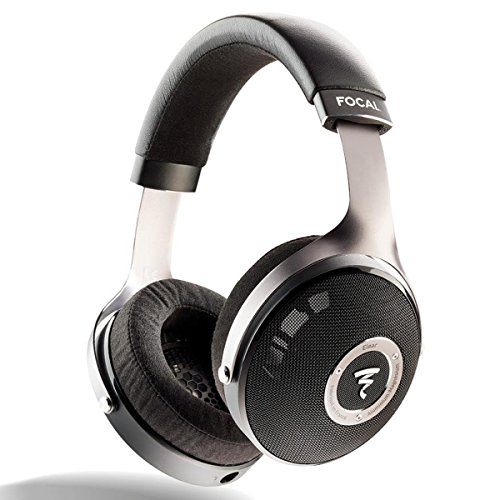 Focal elear aluminium,black circumaural head-band headphone - headphones (circumaural, head-band, wired, 5-23000 hz, 4 m, aluminium, black)
