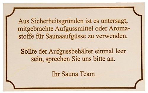 Hofmeister Holzwaren Hinweisschild,