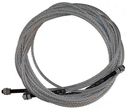 Preisvergleich Produktbild Seil Stahlseil Ø 9.3 mm,  L: 9475 (9470-9480) mm für Ausgleich Hebebühne RP-6213B2,  RP-6214B2 H: 3250 mm