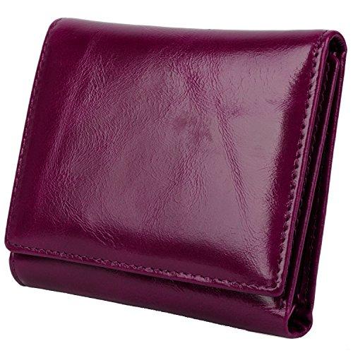 yaluxe-donna-compatto-piccolo-tri-fold-pelle-borsa-con-cerniera-moneta-fach-confezioni-regalo-porpor