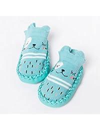 non-brand Sharplace Scarpe Sandali Di Cuoio per Bambini Neonata - Nero, 12-18M