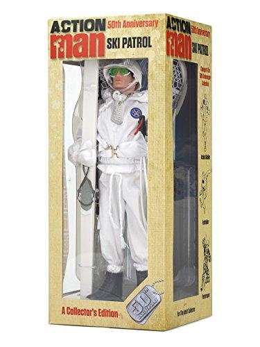 "Action Man AM717 \""50th Anniversary Ski Patrol\"" Figure"