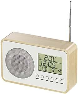 auvisio radio mit uhr design fm radiowecker mit amazon. Black Bedroom Furniture Sets. Home Design Ideas