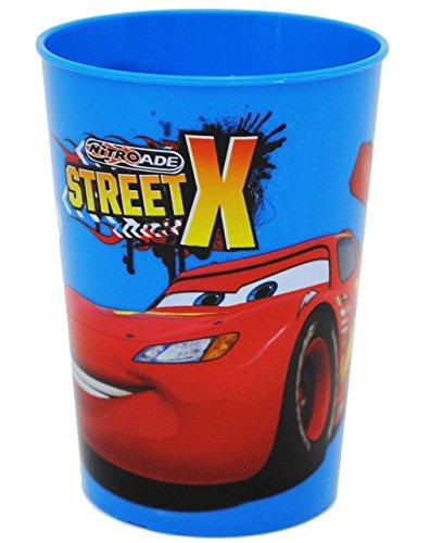 1-Stck--3-in-1-Trinkbecher-Zahnputzbecher-Malbecher-Becher-Disney-Cars-Lightning-McQueen-BLAU-280-ml-Trinkglas-aus-Kunststoff-Plastik-fr-Kinder-Jungen-mehrweg-Kindergeschirr-Kinderglas-Kinderbecher-Ca