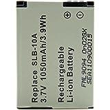 NX - Batterie photo/caméscope 3.7V 1050mAh - Blister(s) x 1 - SLB-10A ; SLB10A