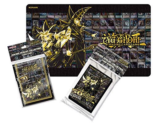 Unbekannt Yugioh - Golden Duelist - Hüllen + Deck Box + Spielmatte - Magician Dark Yu-gi-oh-karte