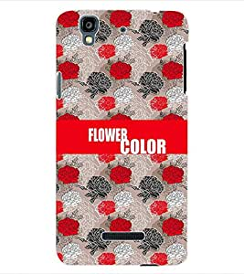 ColourCraft Color Flower Back Case Cover for YU YUREKA AO5510