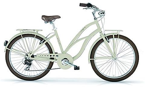 Vélo Cruiser mBM Maui Femme en aluminium 26& # x2033; 7vitesses Matt Sunny Lime