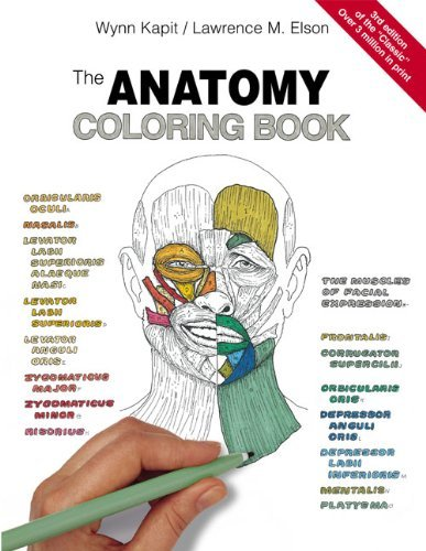 By Wynn Kapit, Lawrence M. Elson: The Anatomy Coloring Book