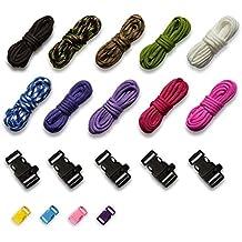 20 teilig Kunststoff Klippverschluss Set Klickverschluss Steckschließer