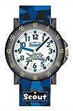 Scout Jungen-Armbanduhr Analog Quarz Textil 280375004